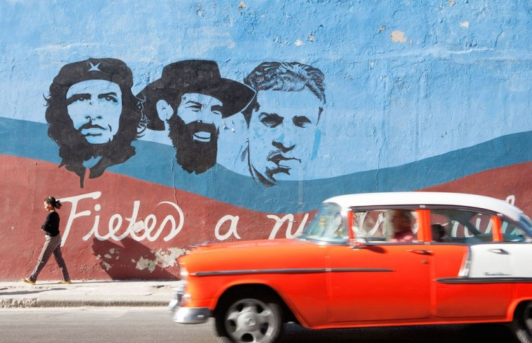Image: HAVANA: CENTRO HABANA AND REVOLUTIONARY GRAFFITI