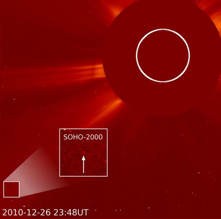 Image: SOHO's 2,000th comet