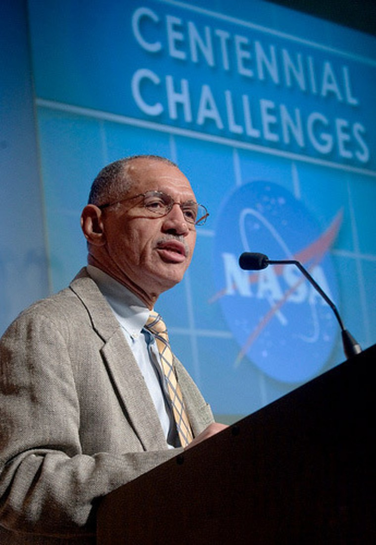 NASA Administrator Charles Bolden addresses the 14th annual FAA Commercial Space Transportation Conference.