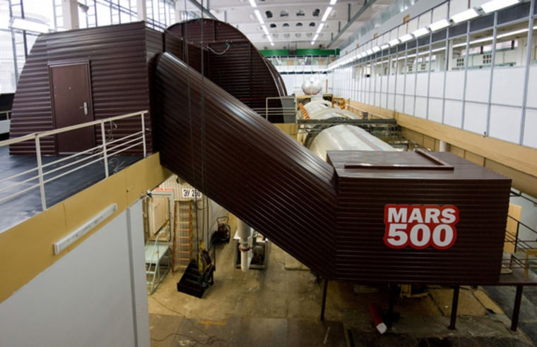 An exterior view of the isolation facility at the Russian Institute of Biomedical Problems in Moscow. The facility is host to the Mars500 study that will help us to understand the psychological and medical aspects of long spaceflights.