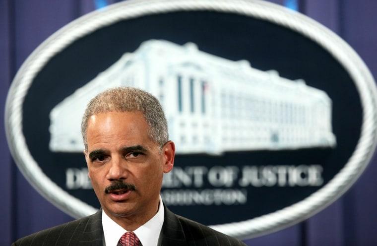 Image: Attorney General Eric Holder