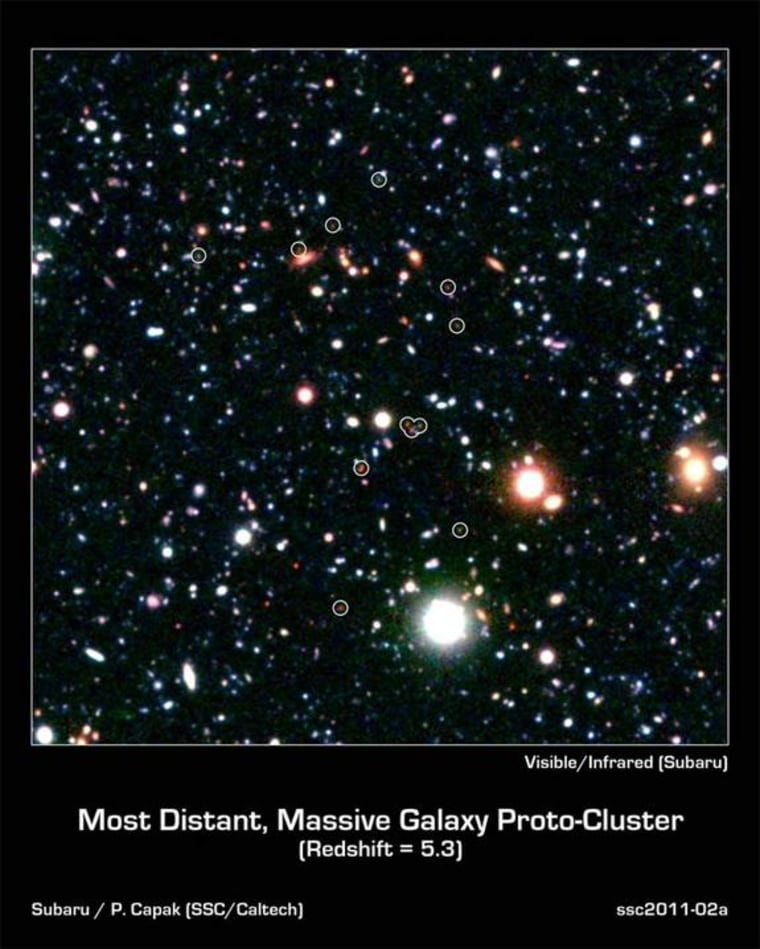 Image: Infant galaxies