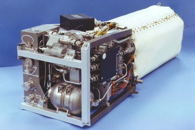 A fuel cell that is used on the space shuttle.