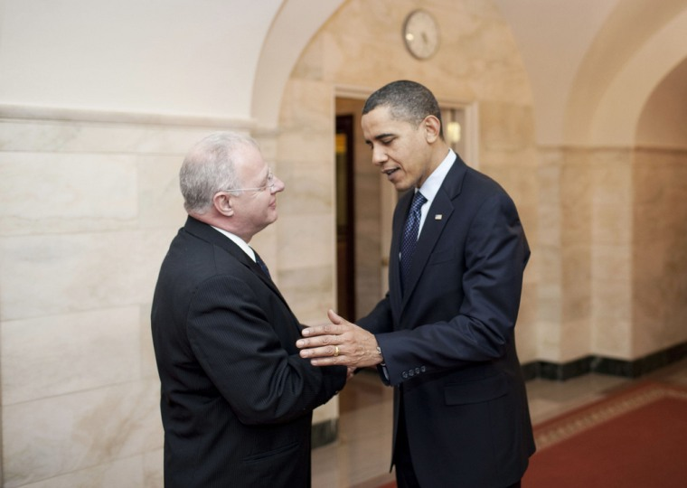 Image: President Barack Obama and White House Cyber Security Chief Howard A. Schmidt