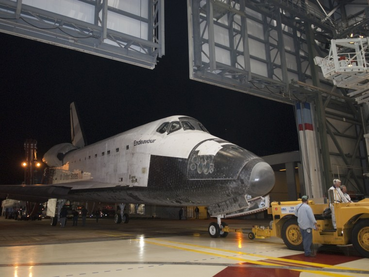 Image: Endeavour in 2010