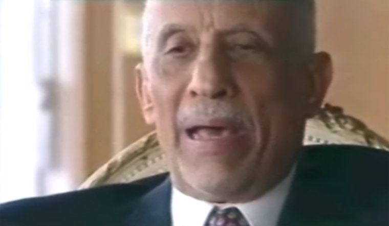 Youssef Nada, longtime stragegist for the Muslim Brotherhood, in an undated file photo.