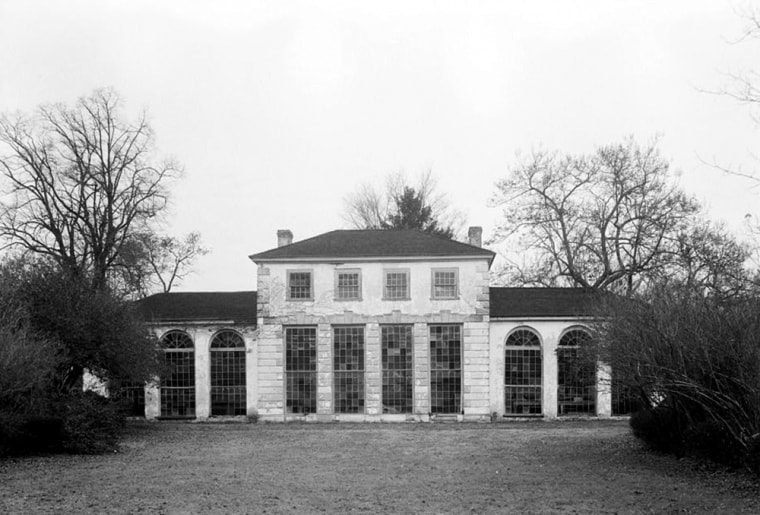 Image: The orangery at the Wye House in Baltimore
