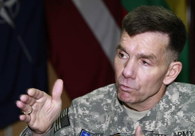Image: U.S. Lt. Gen. William Caldwell
