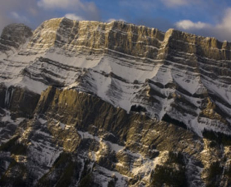 The Rocky Mountains may have been formed when a giant suction created a counter force that thrust the mountains upward. The proposalalsocould potentially explain the surprising bands of gold, silver other minerals that streak at a near right angle across the Rockies in Colorado.