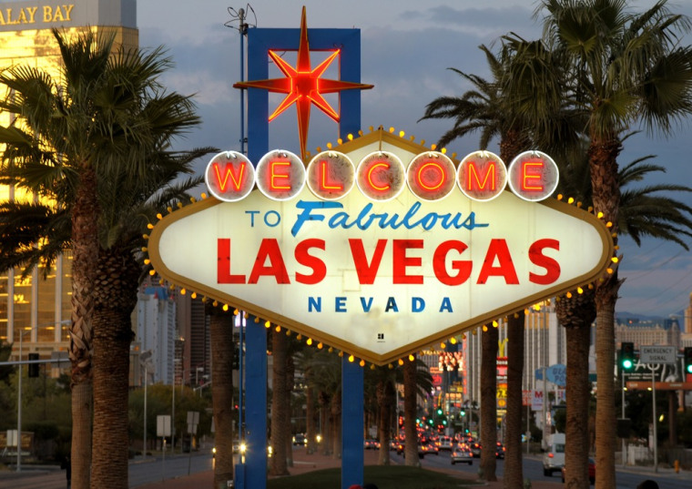 Image: Welcome to Las Vegas sign