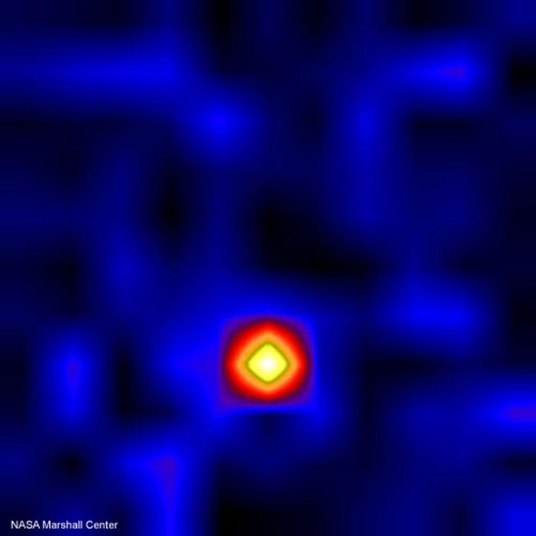 Black holes are among the universe's most  mysterious objects. This image of the Cygnus X-1 binary star system is one of the first two focused high-energy X-ray images of any astron.
