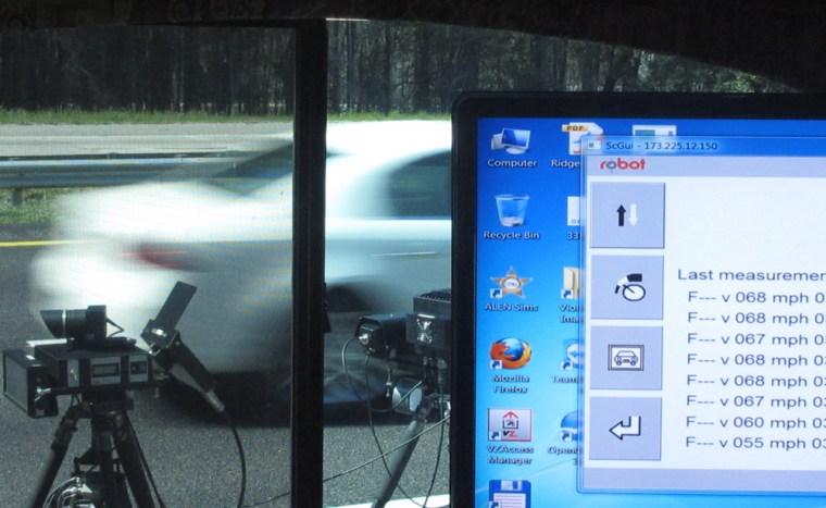 Image: Speed camera system