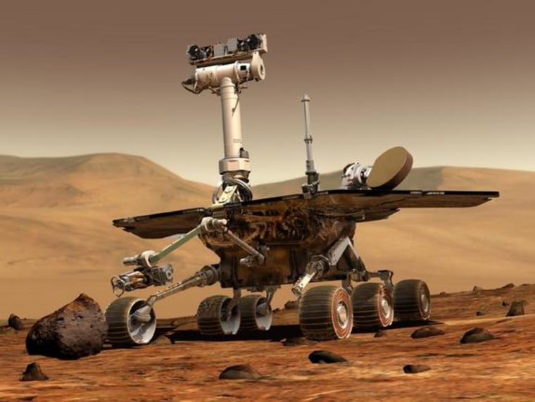 NASA's twin Mars rovers, Spirit and Opportunity, have been on the surface of Mars for more than seven years. Opportunity is still cruising around the Martian surface.