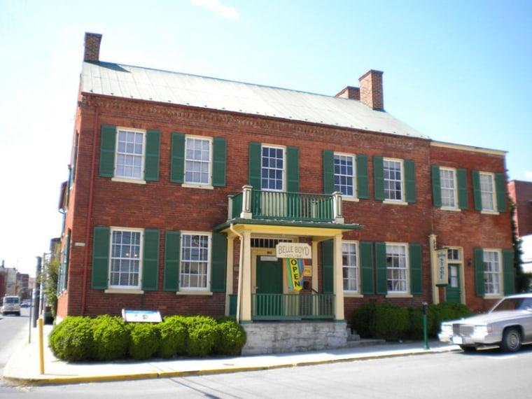 Image: Belle Boyd House