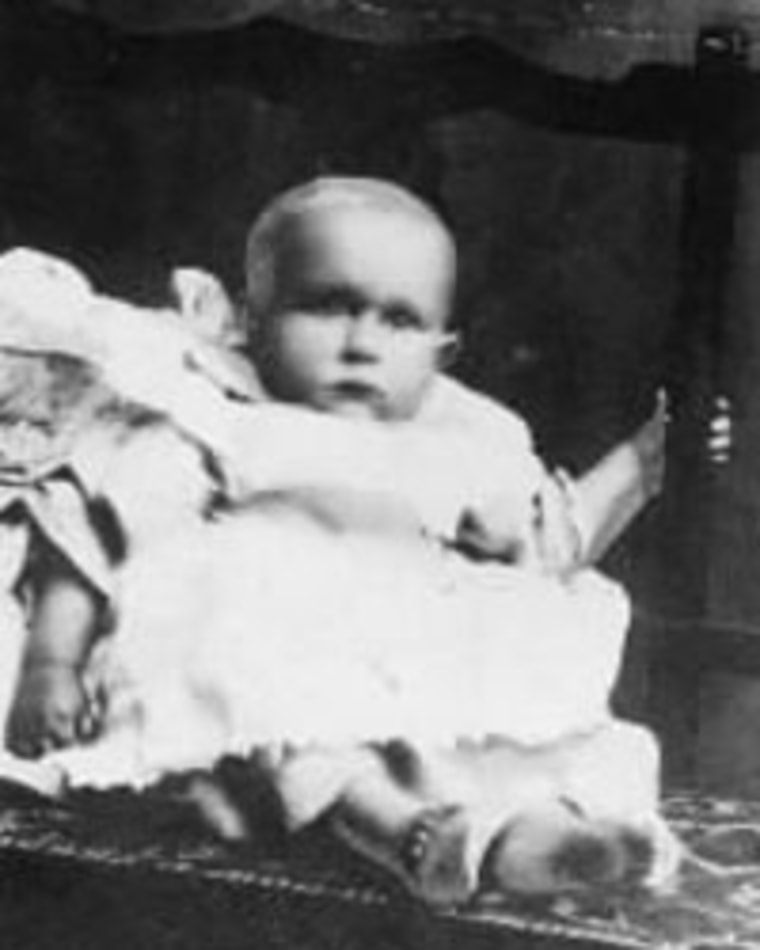 Image: Baby Sidney Lesilie Goodwin
