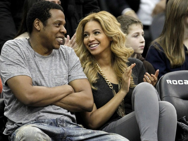 Image: Jay-Z and Beyonce