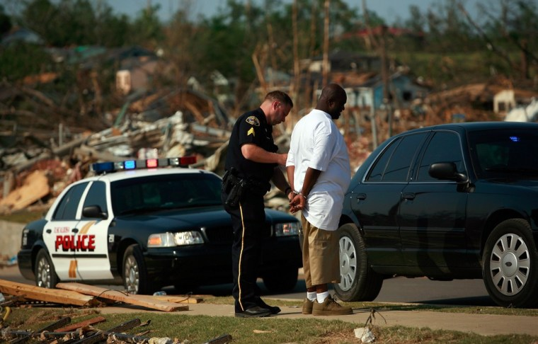 Image: Tornadoes Rip Through Alabama, Killing Close To 300 People