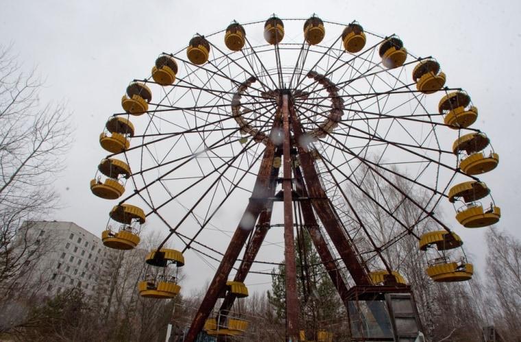Image: Pripyat ferris wheel