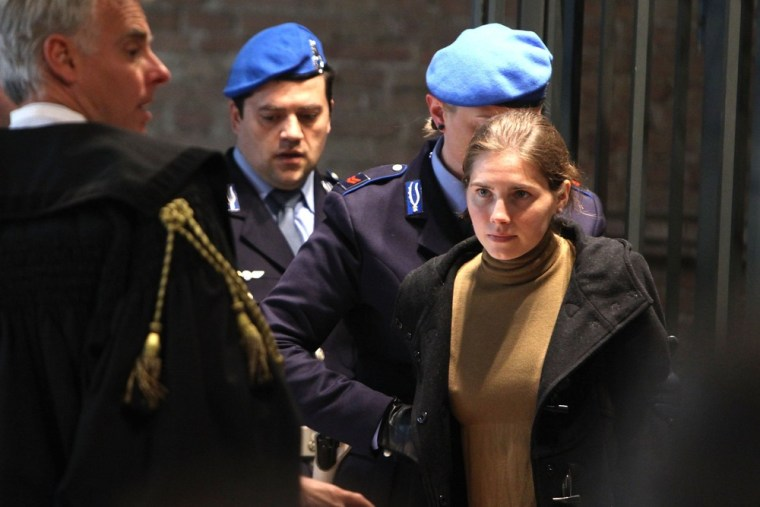 Image: Appeal Trial Of Amanda Knox Continues Over The Guilty Verdict In The Murder Of Meredith Kercher
