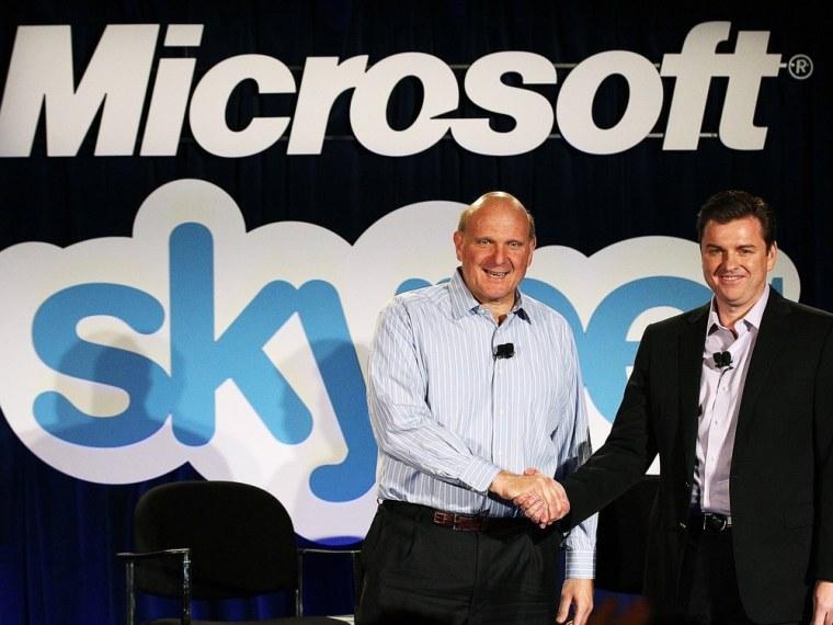 Image: Microsoft Announces Skype Acquisition For 8.5 Billion