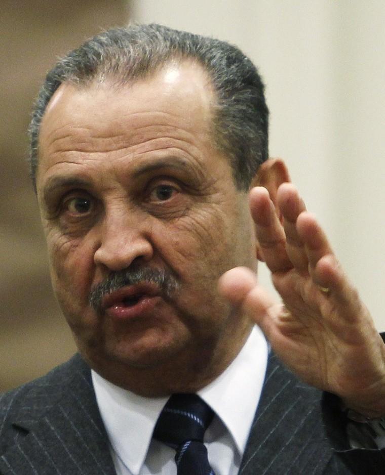 Image: Shokri Ghanem, chairman of Libya's National Oil Corporation