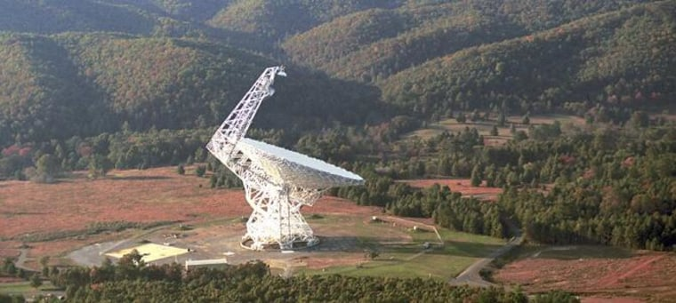The Robert C. Byrd Green Bank Telescope in West Virginia is observing 86 planetary systems that may contain Earth-like planets.