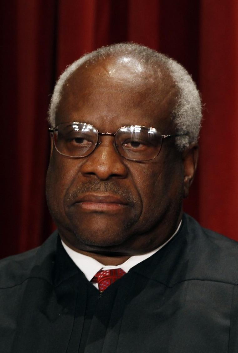 Image: U.S. Supreme Court Associate Justice Clarence Thomas