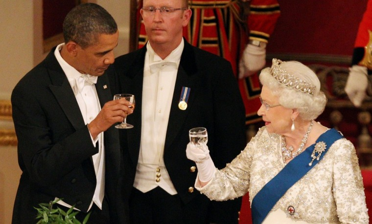 Image: BESTPIX  US President Barack Obama Visits The UK - Day One