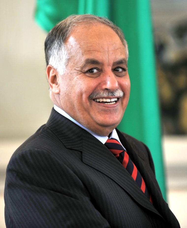 Libyan Prime Minister Al Baghdadi Ali Al Mahmoudi.