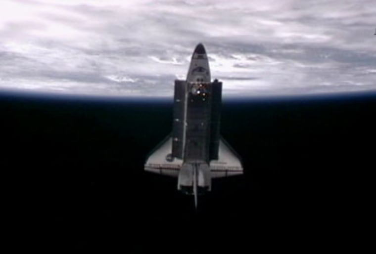 Image: Endeavour as seen from space station
