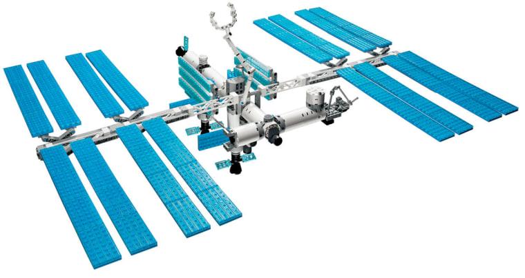 Image: LEGO version of International Space Station