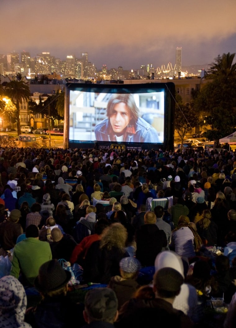 Image: Film Night, San Francisco and Marin County