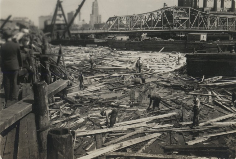 The 1938 New England Hurricane was the last to impact New York City, where 10 people lost their lives. This image is from Pawtuxet Villagein Rhode Island.