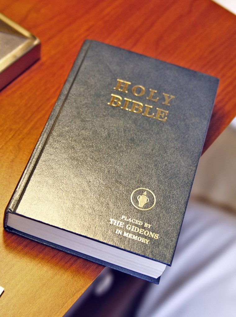 Gideons spread the word one Bible, one room at a time