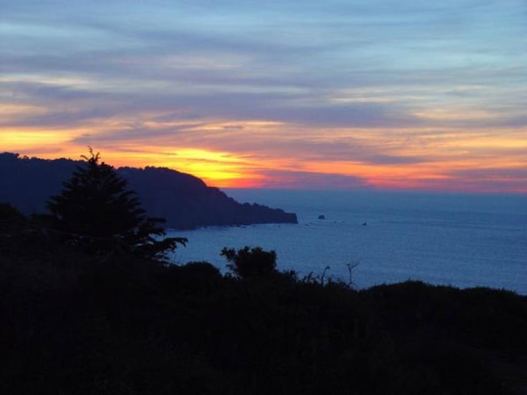 The sun sets over Lands End, San Francisco. What's out there beneath the surface? Scientists are determined to find out.