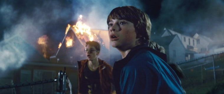 """The new science fiction film """"Super 8"""" is one of several new movies bringing the subject of alien encounters to the big screen again."""