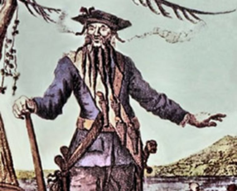 Excavation of the wreck of one of Blackbeard's ships reveal that the notorious pirate used gruesome tactics during his attacks.