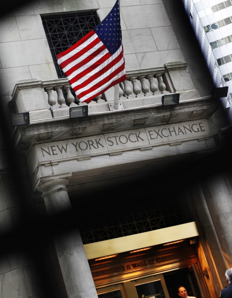 Image: The outside of the New York Stock Exchange is seen in New York
