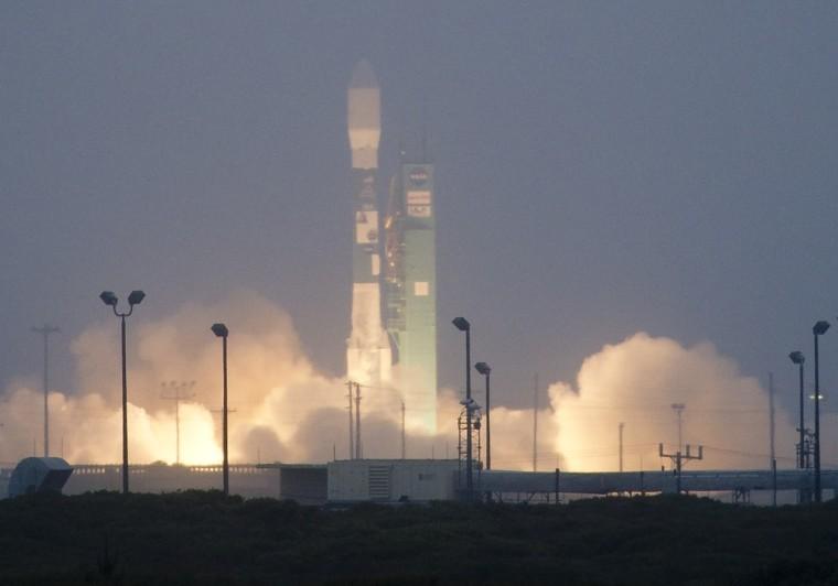 Image: Aquarius launch