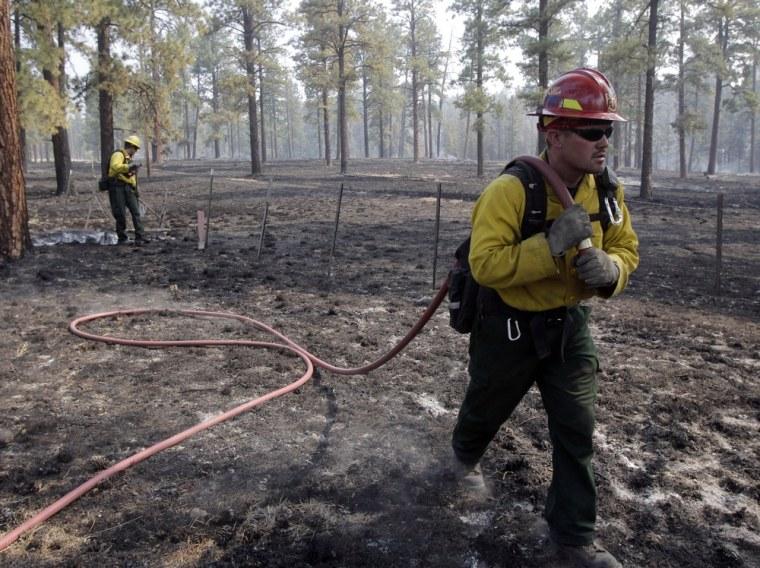 Image: Wallow Fire in Greer, Ariz.