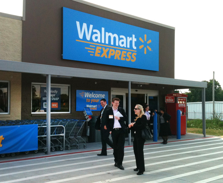 Image: Wal-Mart Express store in Gentry, Ark.