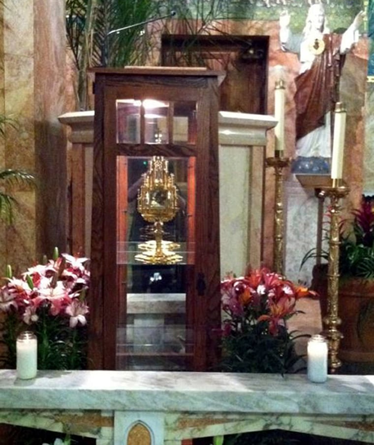 A 780-year-old religious relic of St. Anthony.