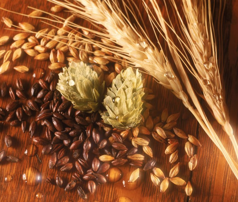 The Greeks and Romans often turned their noses up to beer, so it is unlikely that the French beer-maker was able to trade the brew for wine. The raw grain itself, or materials such as metals, might have been traded.