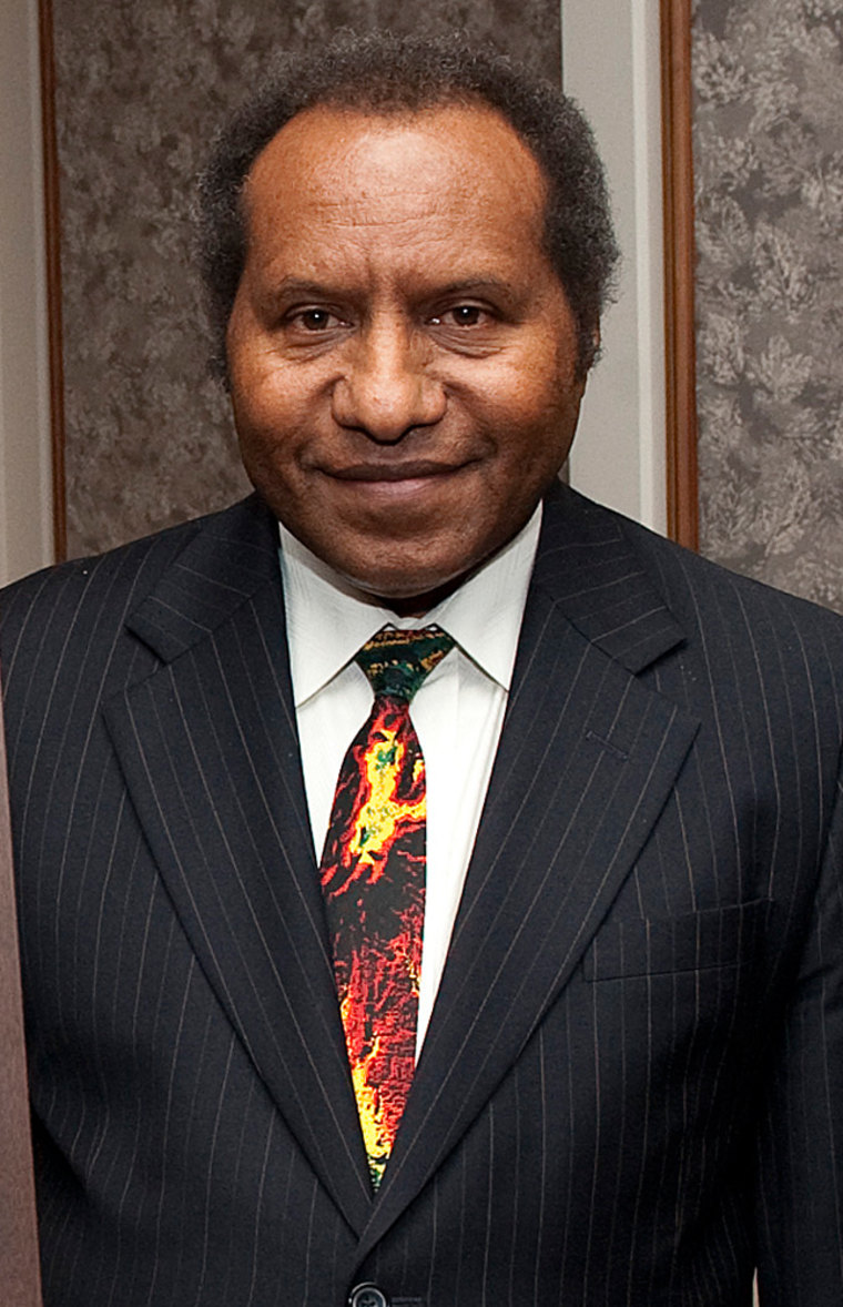 Image: Sam Abal, acting Prime Minister of Papua New Guinea