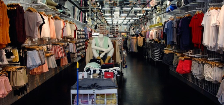 Image: American Apparel store in New York