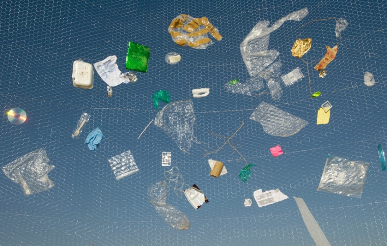 Americans toss out 48 billion tons of plastics yearly; only 7 percent of that is recycled.