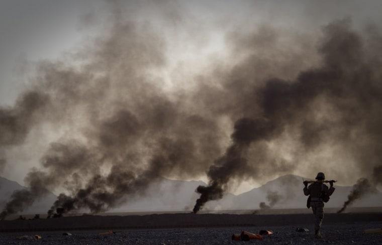 Image: Marine in Afghanistan