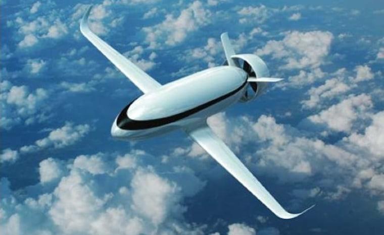 VoltAir, the zero-emissions air plane.