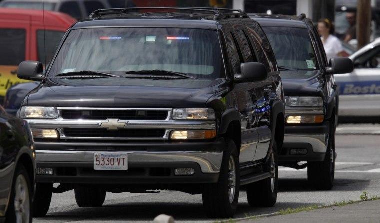 Image: U.S. Marshal vehicles