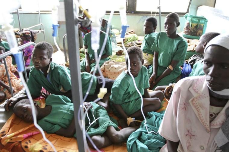 Image: Lightning kills 18 school children in Uganda